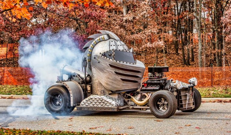 The Medieval One Hot Rod by Bohata Design is the Definition of One of a Kind
