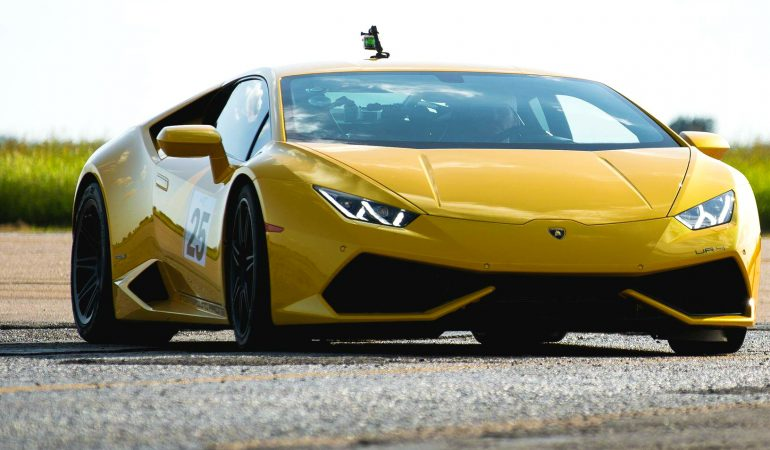 Twin-Turbo Lambos Dominated the TX2K17 Roll Race Event