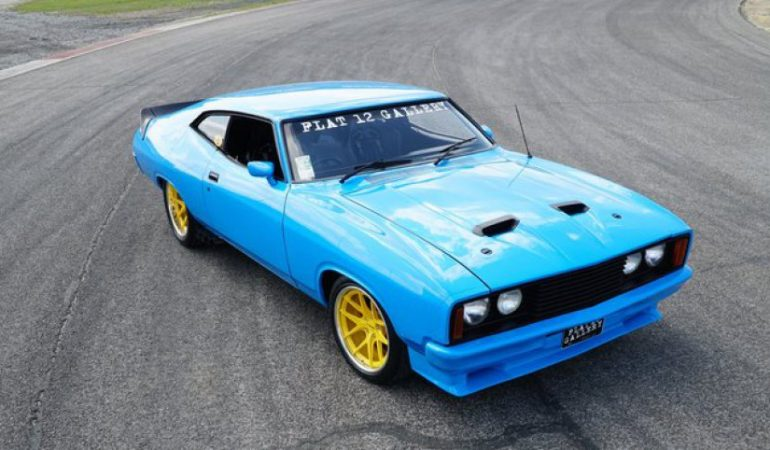 Make Your Mad Max Dreams Come True With This Ford Falcon XB GT