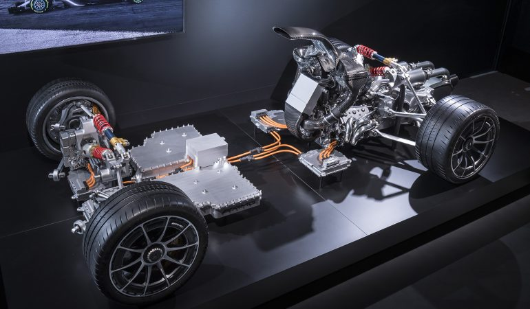 This is the Bonkers Powertrain for the Upcoming Mercedes-AMG Project One