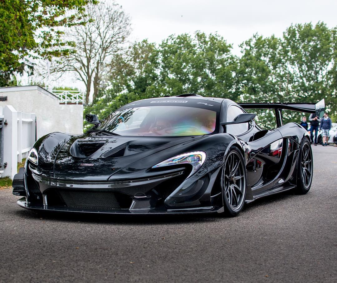 its official the mclaren p1 lm annihilated the
