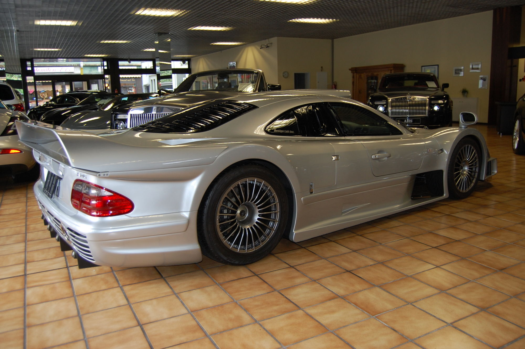 fascinating history of the mercedes clk gtr including. Black Bedroom Furniture Sets. Home Design Ideas