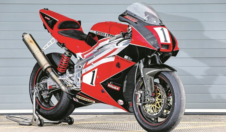 Crighton Racing Has Revived The Rotary Motorcycle