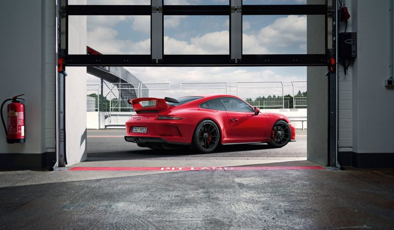 The Spectacular New Porsche 911 GT3 Puts Down Lap Times Almost as Fast as the 918