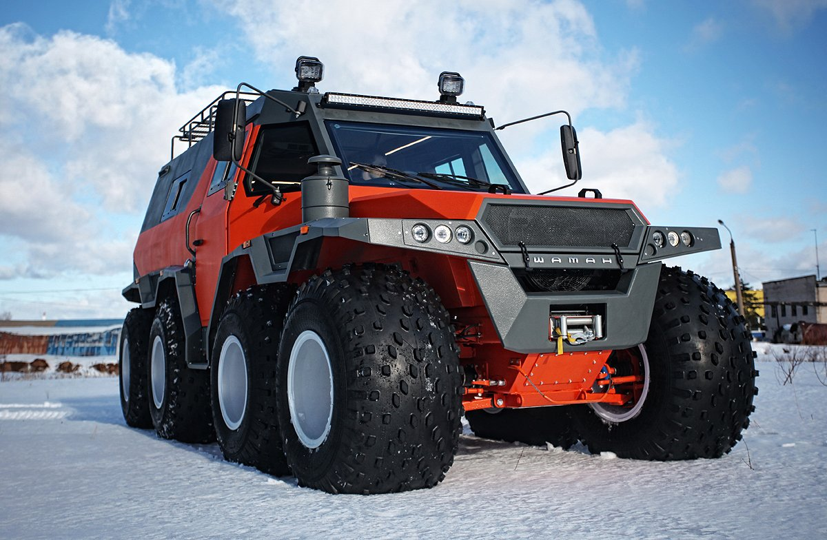 The Shaman Atv Is An 8wd Offroad Limousine That Will Take