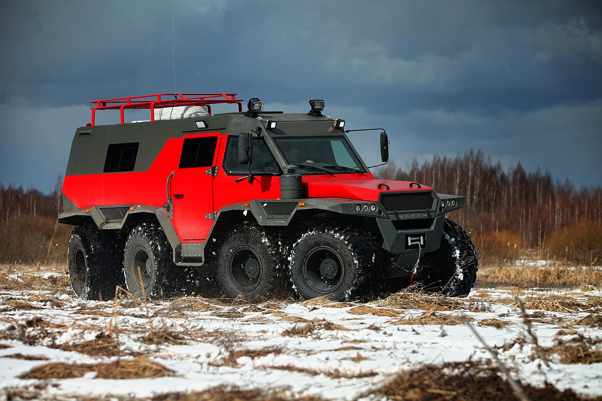 Vehicles For Sale: The Shaman ATV Is An 8WD Offroad Limousine That Will Take