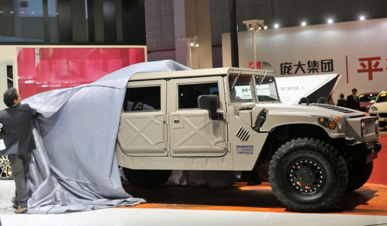 Bob Lutz and VLF Automotive Are Building Brand New Hummer H1's and Sending Them To China