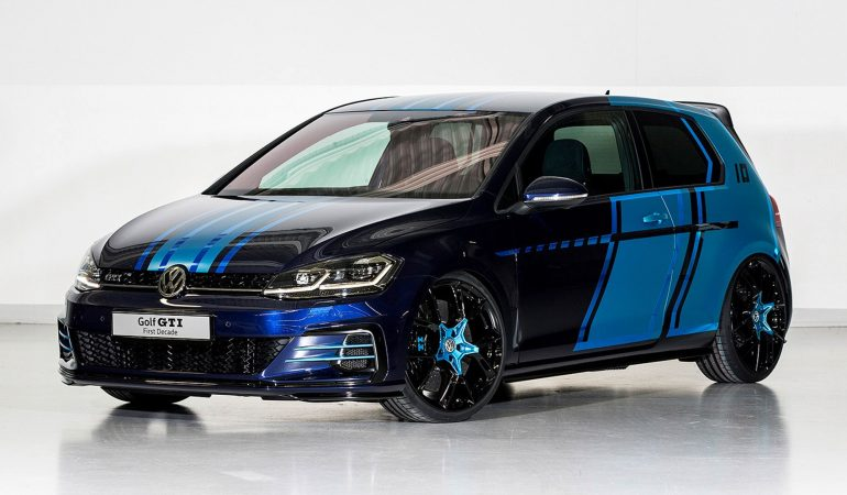 First Decade: The VW GTI Show Car That Almost Impressed