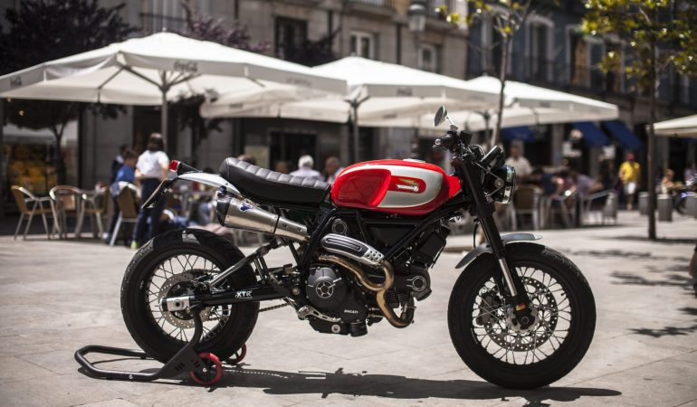 This XTR Pepo Ducati is As Good As a Scrambler Gets