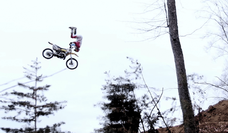 Travis Pastrana Pulls Yet Another World's First With the Front Flip Superman Indian Air