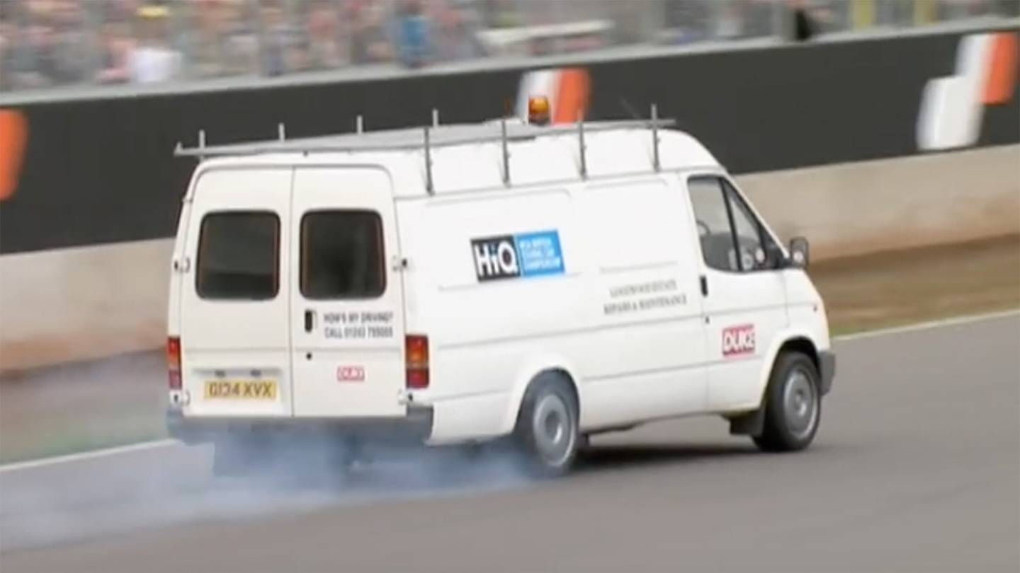 Pay Roadandtrack Com >> This Plain Looking Transit Van Has a Jaguar XJ220 Motor and is Automotive History - Moto Networks