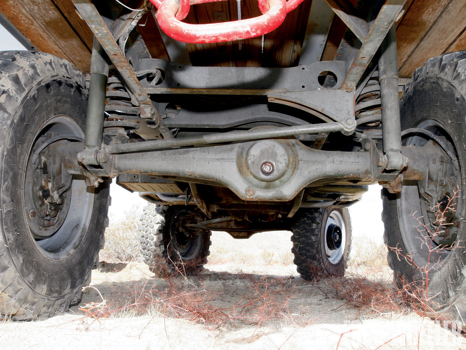 Portal Axle Design : This unimog is the ultimate awesome old school
