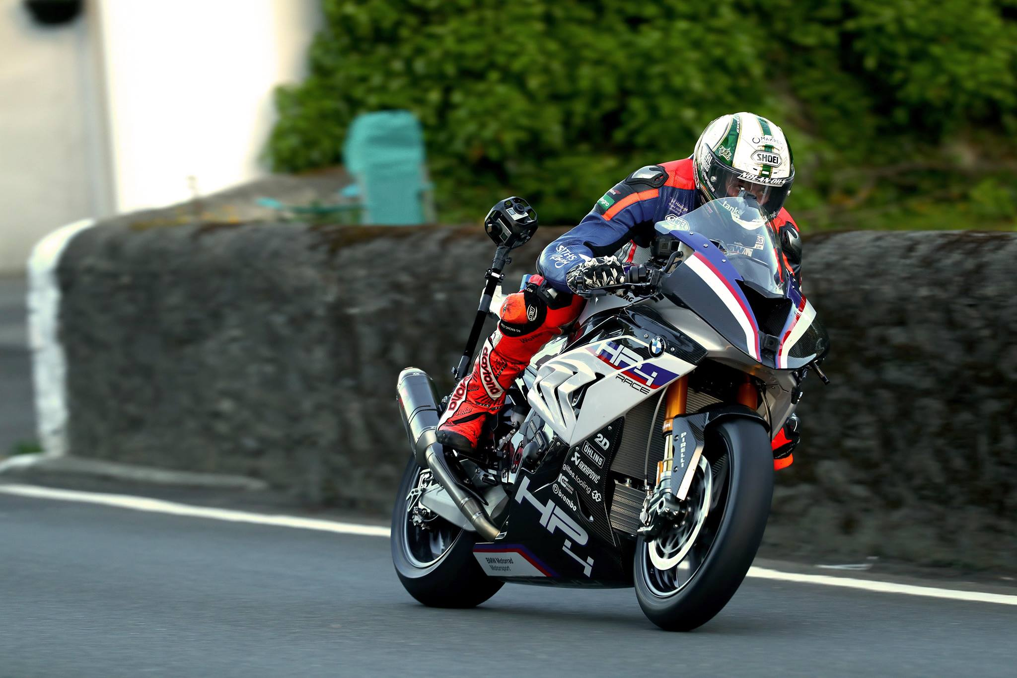 Peter Hickman Puts The Bmw Hp4 Race Through Its Paces At