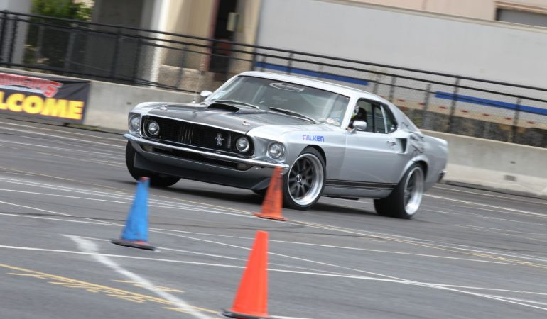 Autocrossing Muscle Cars Needs To Become The New Standard Of Fun
