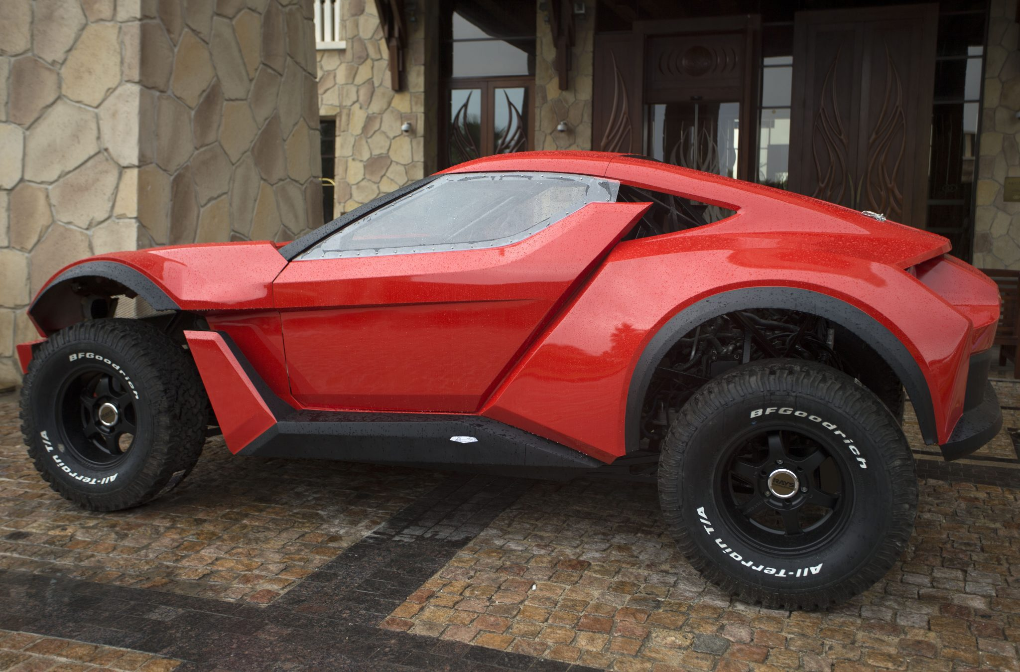 Sandracer 500gt The First Emirati Car Manufacturer Is