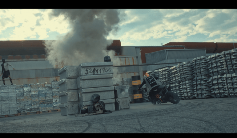 Rok Bagoros and KTM Bring Us An Apocalyptic Stunt Thriller In 'Ride and Slay'