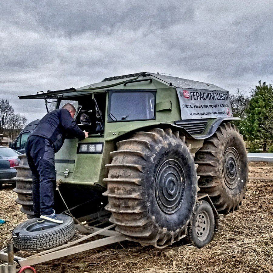 Watch The Sherp Atv Get Put To The Ultimate Test In The Canadian Muskeg Moto Networks