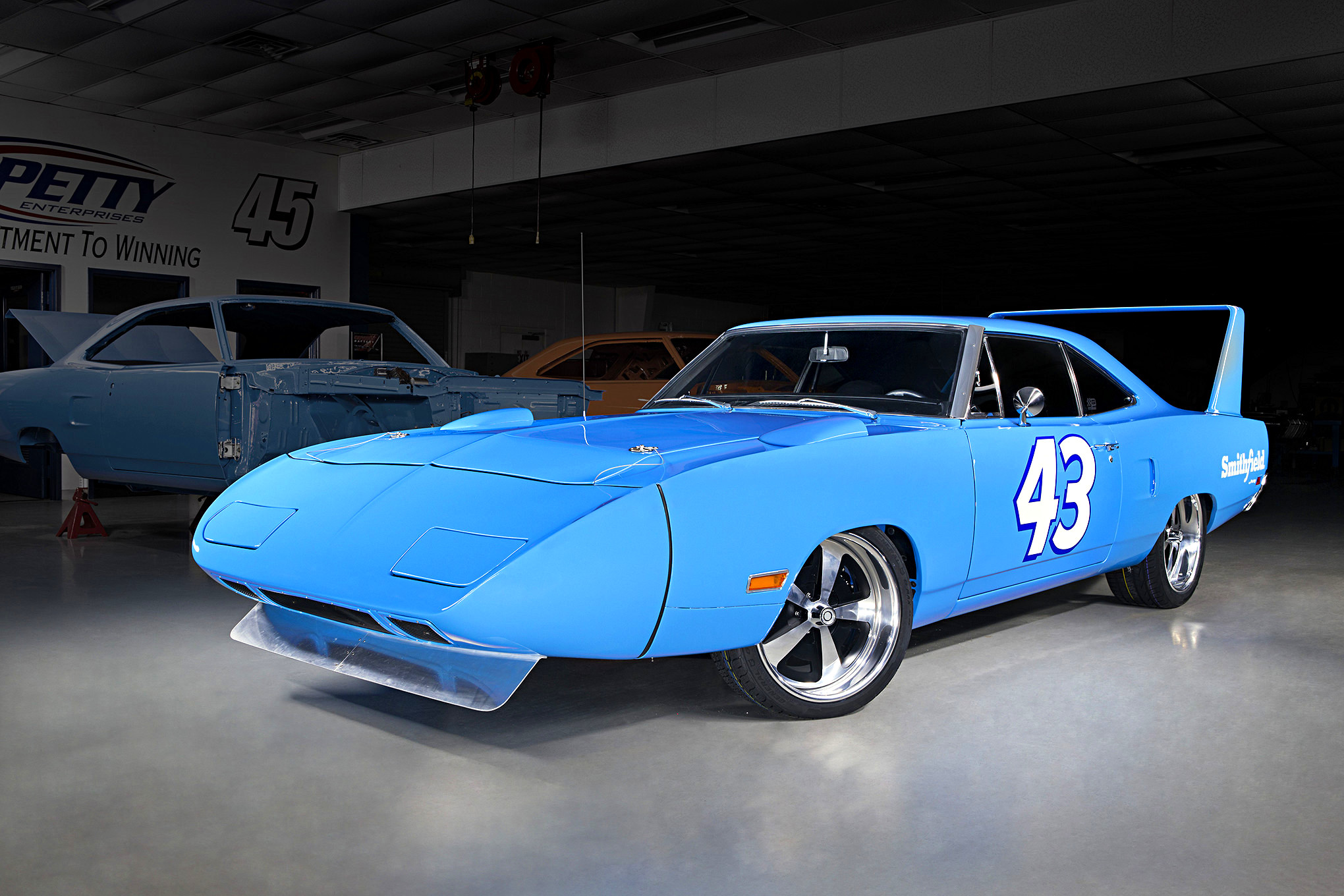 Thanks to a Pork Company and NASCAR Legend, You Can Win This Spectacular Plymouth Superbird ...