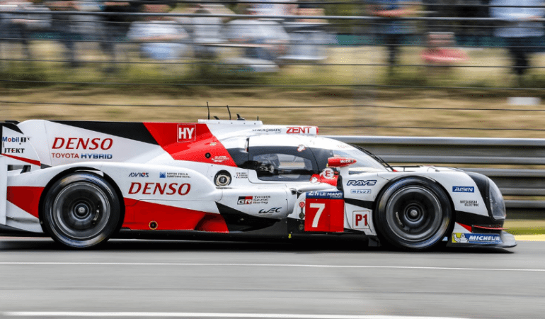 A Toyota LMP1 Driver Just Dominated Le Mans Qualifying and Crushed the Lap Record in the Process