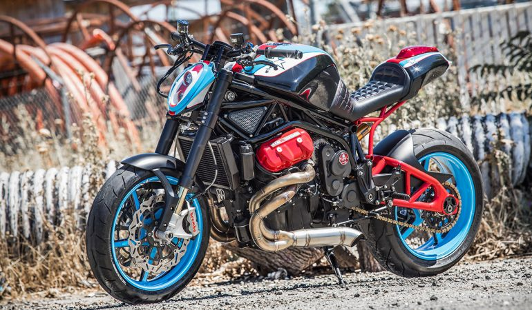 Fuller Moto Has Built An Absolutely Radical Motus V4 MST-R
