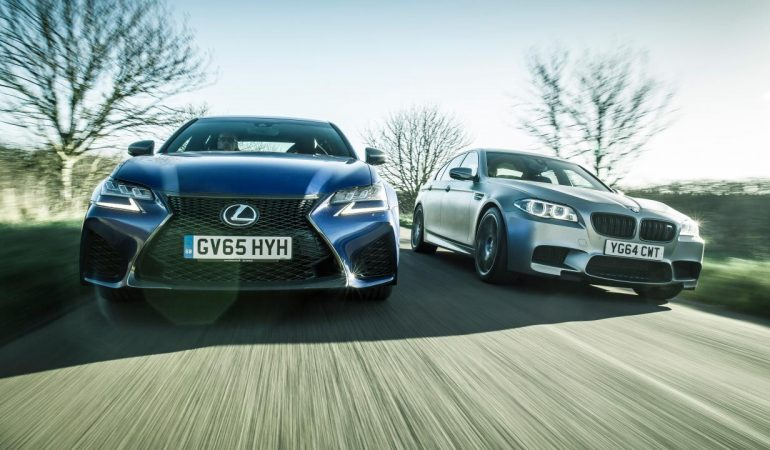 Chris Harris Takes the Lexus GS F and BMW 30 Jahre M5 Out to the Snowy Welch Countryside