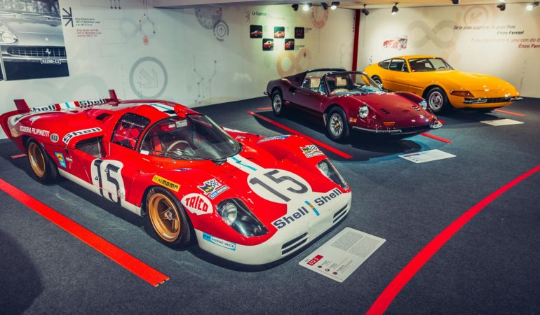 Ferrari Expands Its Museum With Two New Exhibits In Celebration Of 70 Years Of Success
