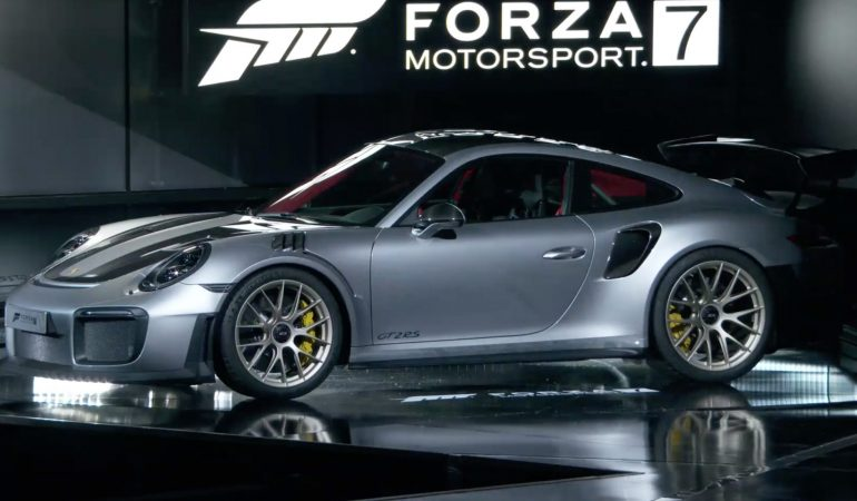 Forza 7 Is Shaping Up To Be The Best Looking Sim Racing Game, Thanks To Some Help From Porsche