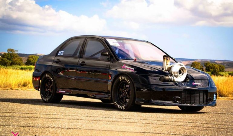This Mitsubishi Evo is Absolutely Bonkers Thanks to a Massive Turbo and a 13,000rpm Redline