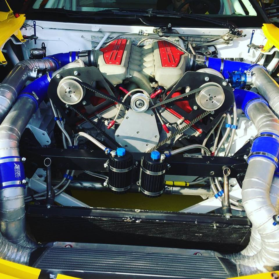 Centrifugal Supercharger Specs: There Is A Twin-Supercharged Ferrari 599 Coming To Formula