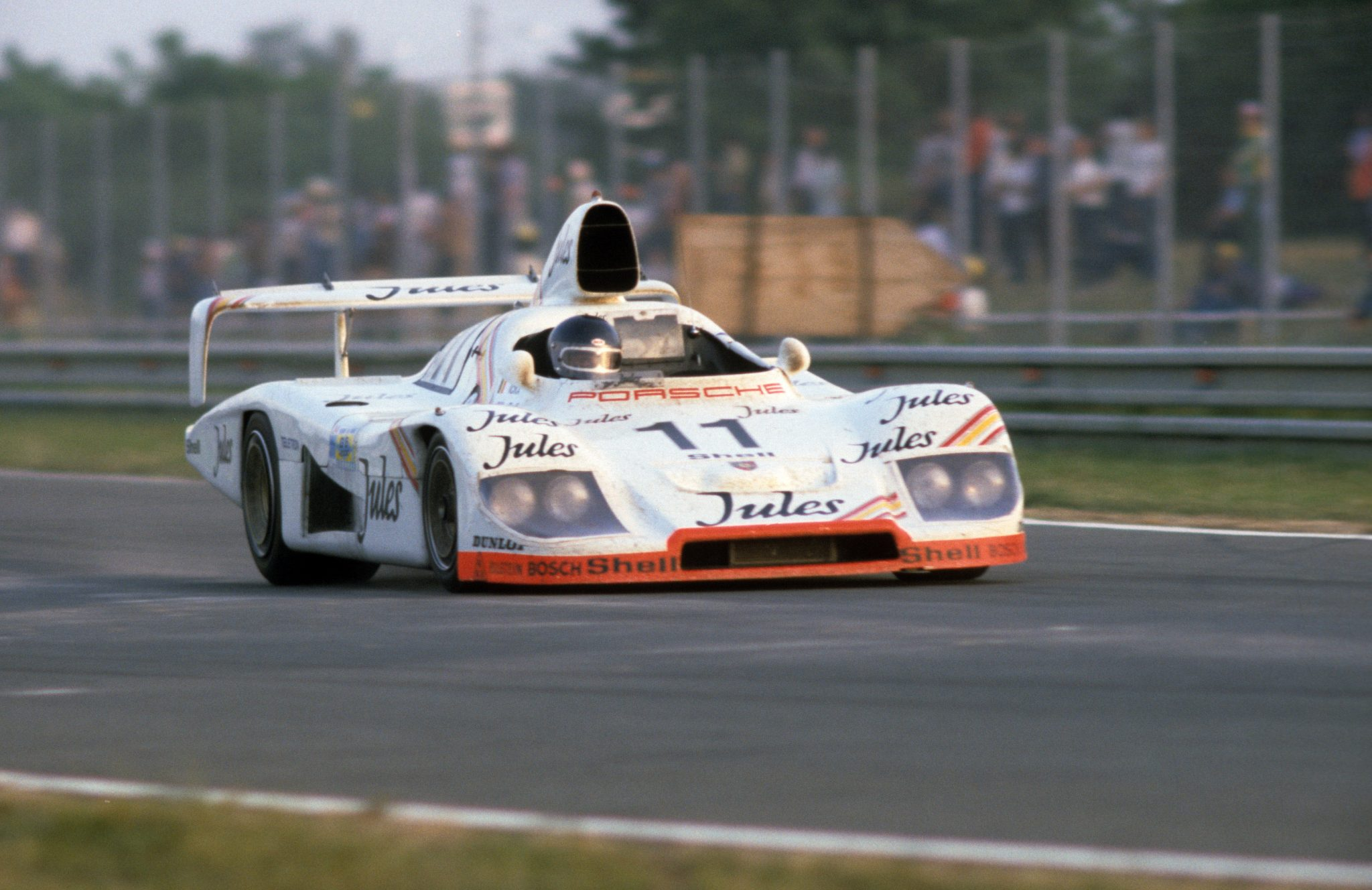 Legendary Racer Jacky Ickx Gets Behind The Wheel Of Both The 956 And 936 At The Porsche