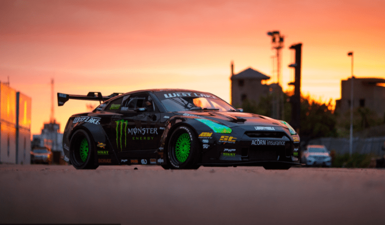 An In Depth Look at the 1,400hp GTR Used in #BATTLEDRIFT2 Reveals Something Unexpected
