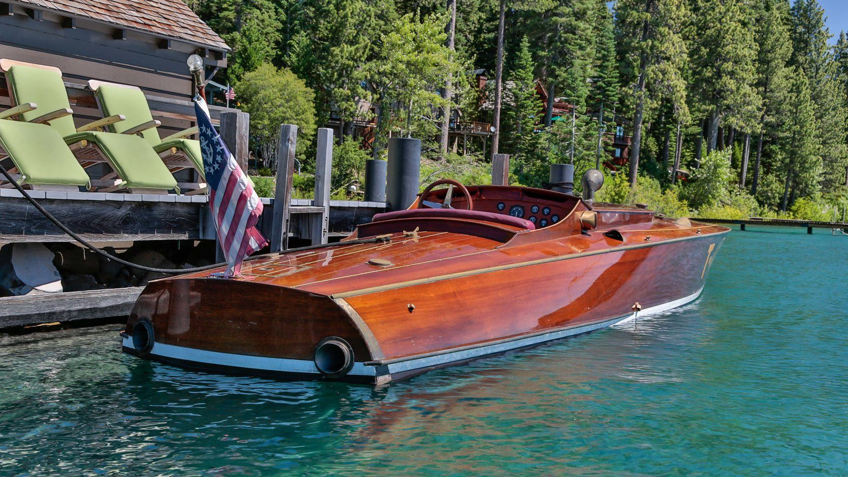 Wood Car Water : Bassett brown have built a cigarette boat to reign over