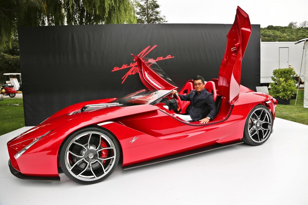 Ken Okuyama >> Kode 0: The latest Creation of the Legendary Ferrari Enzo Designer, Ken Okuyama - Moto Networks