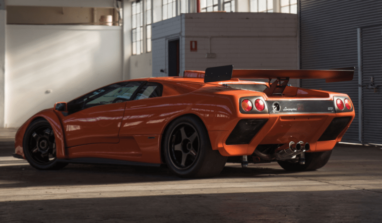 A Brief Look at a Piece of Lamborghini History, The Ultra-Rare Diablo GTR