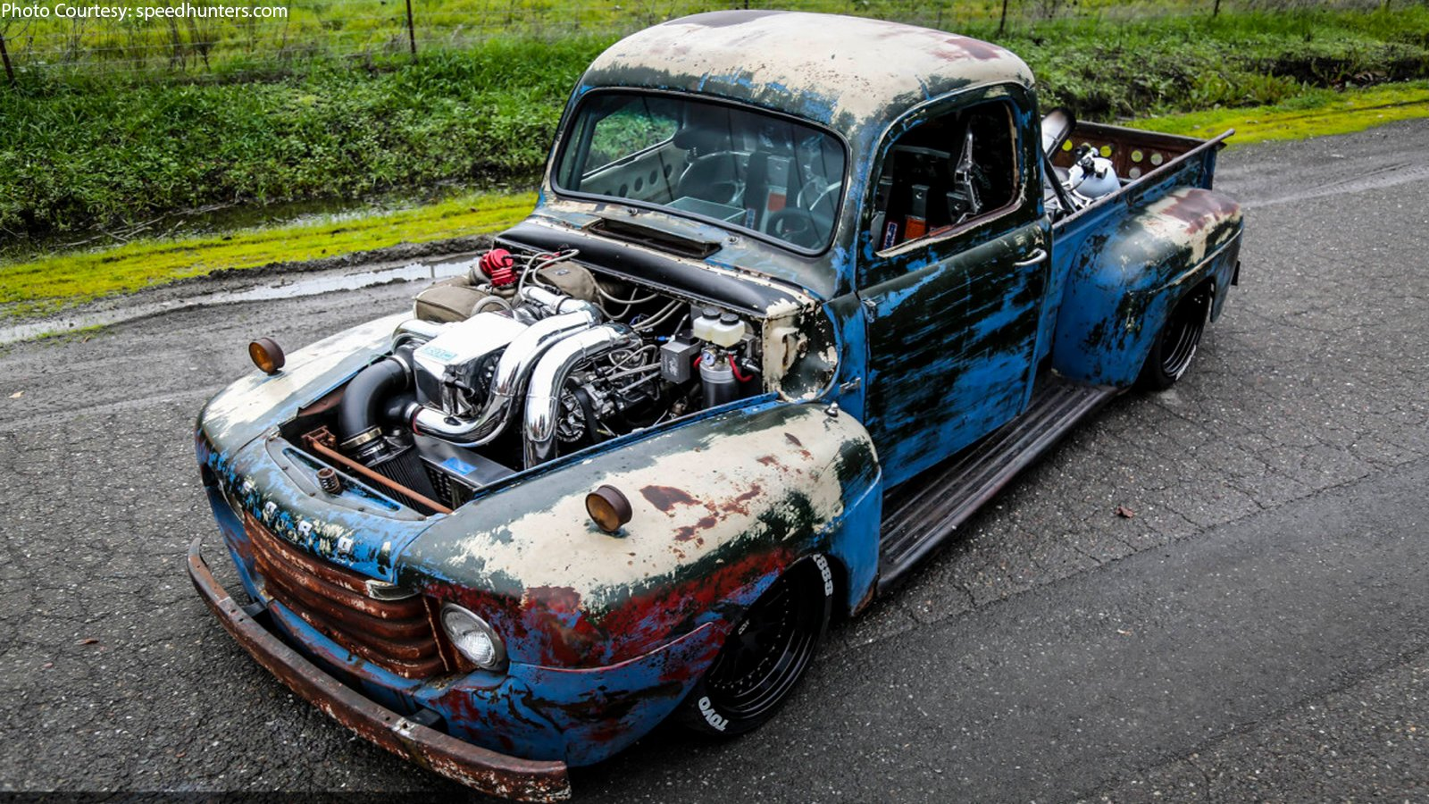 Old Smokey F1: A RestoMod Ford With 1,200whp - Moto Networks