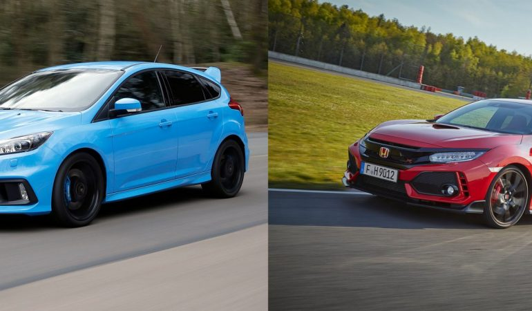 Carfection Pits The Focus RS Against Honda's Type R To See Which Hot Hatch Is King