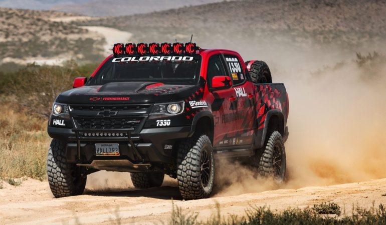 The Colorado ZR2 Will Make its Racing Debut at the Vegas to Reno Thanks to Chevrolet and Hall Racing