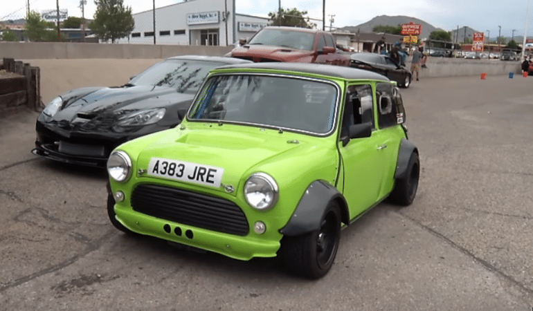 Introducing the Coolest 1983 Mini on the Planet Thanks to a Little Help from a Hayabusa