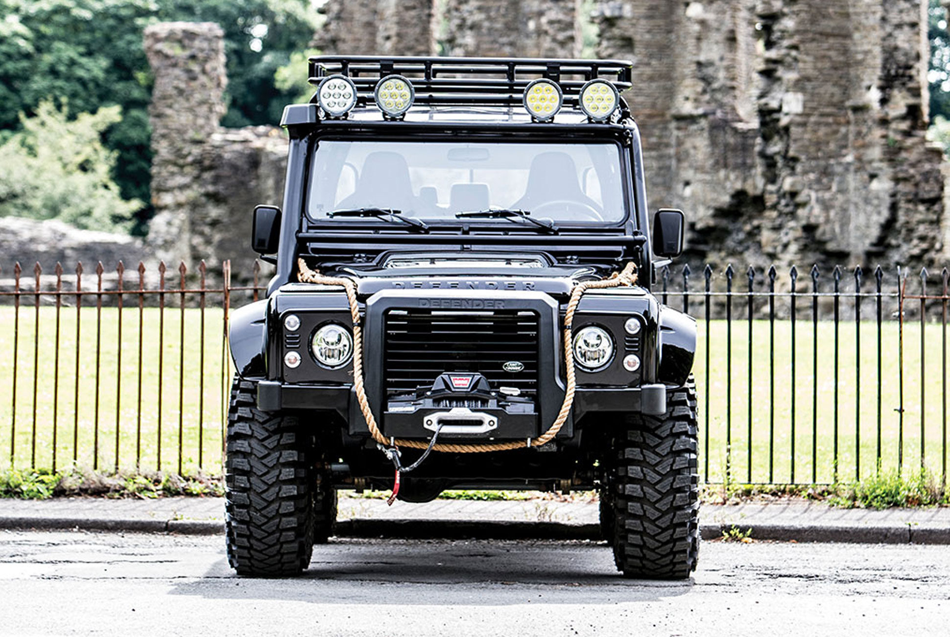 This Land Rover Defender Svx May Have Been Villainous In