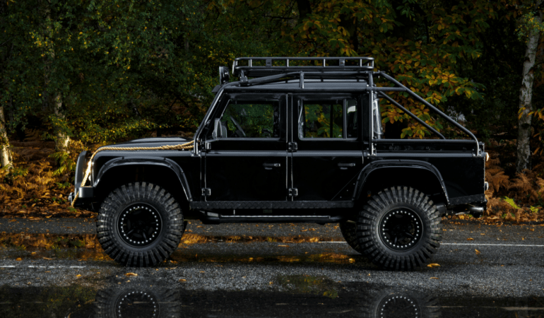 This Land Rover Defender SVX May Have Been Villainous in Spectre, But it's 100% Badass and Now it Can be Yours