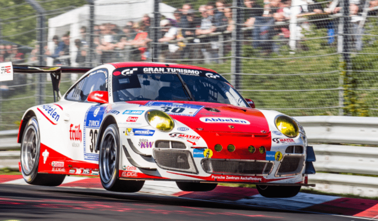 "Watch the ""Queen of the Ring,"" Sabine Schmitz, Pass Half the Field on the First Lap of the Nurburgring 24hr"