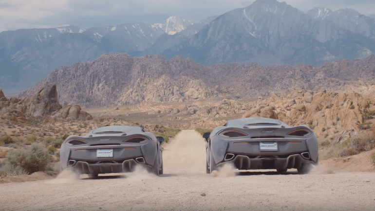 Supercar Camping: Off the Beaten Path in Two McLaren 570GTs and Why this is Such a Fantastic Idea