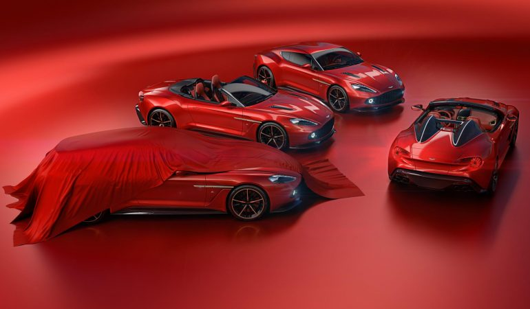 Aston Martin And Zagato Partner Once Again With Some Jaw Dropping Vanquish Models