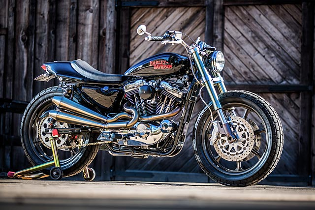 This Street Tracker From Mule Motorcycles Is What Harley Should Be Building Next