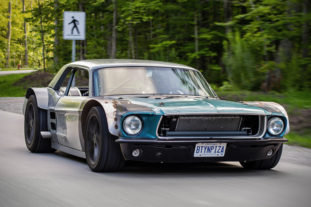 This 1967 Mustang Has A Modern Powertrain But You Ll
