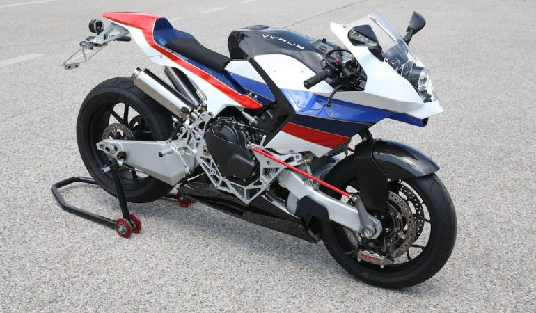 VYRUS 986 M2 Strada: Moto2 Racer For The Streets