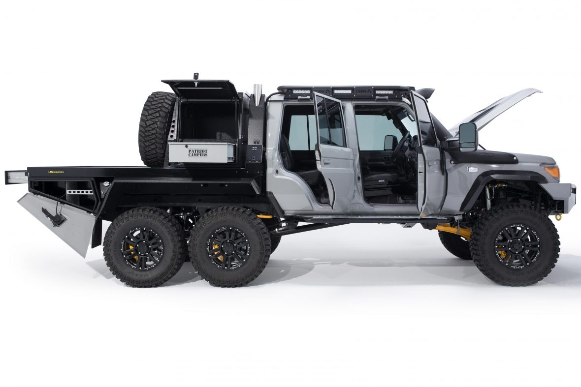 Land Cruiser 79 6x6 >> Austrailian Based Patriot Campers Have Built a Toyota Land Cruiser 6x6 That Dreams are Made Of ...