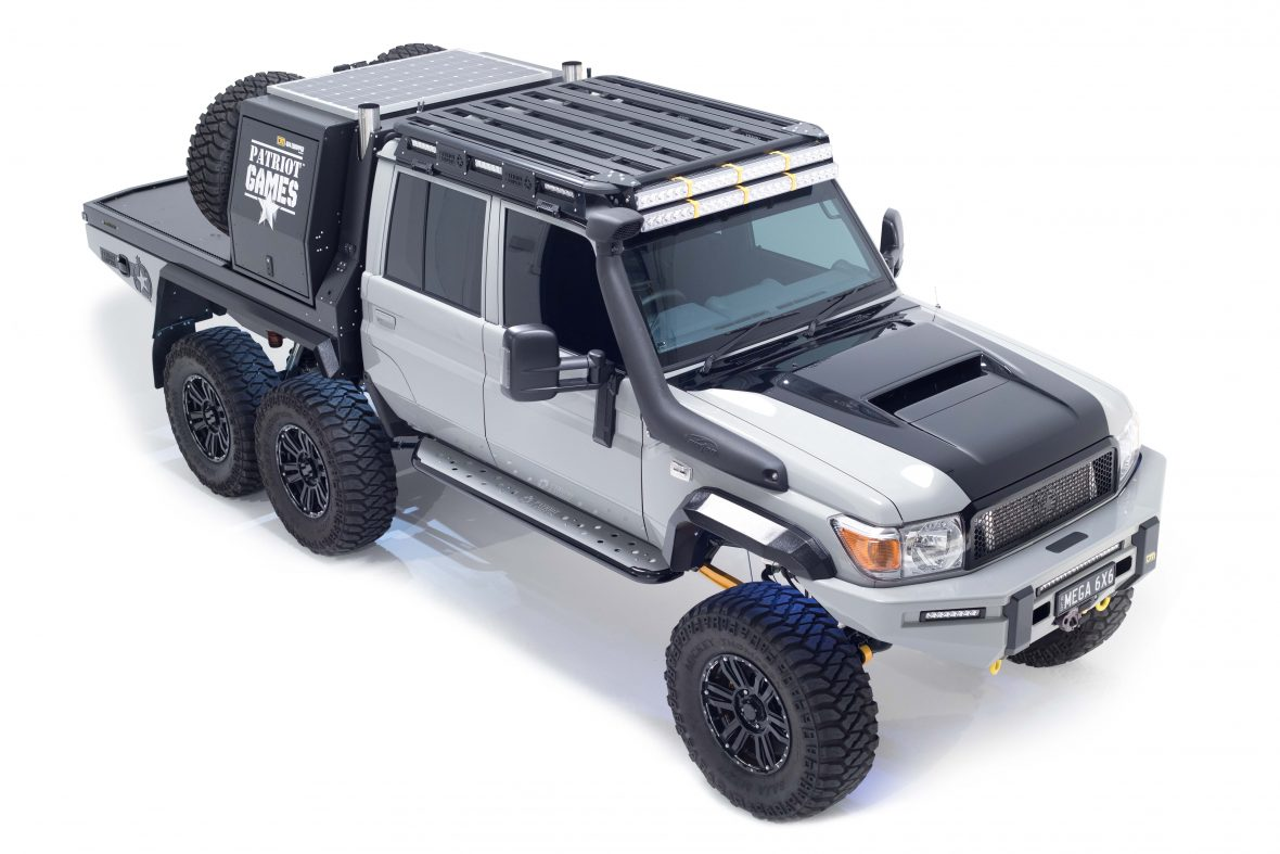 Austrailian Based Patriot Campers Have Built A Toyota Land Cruiser