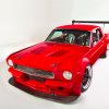 This '66 Mustang Is An On Track Giant Slayer