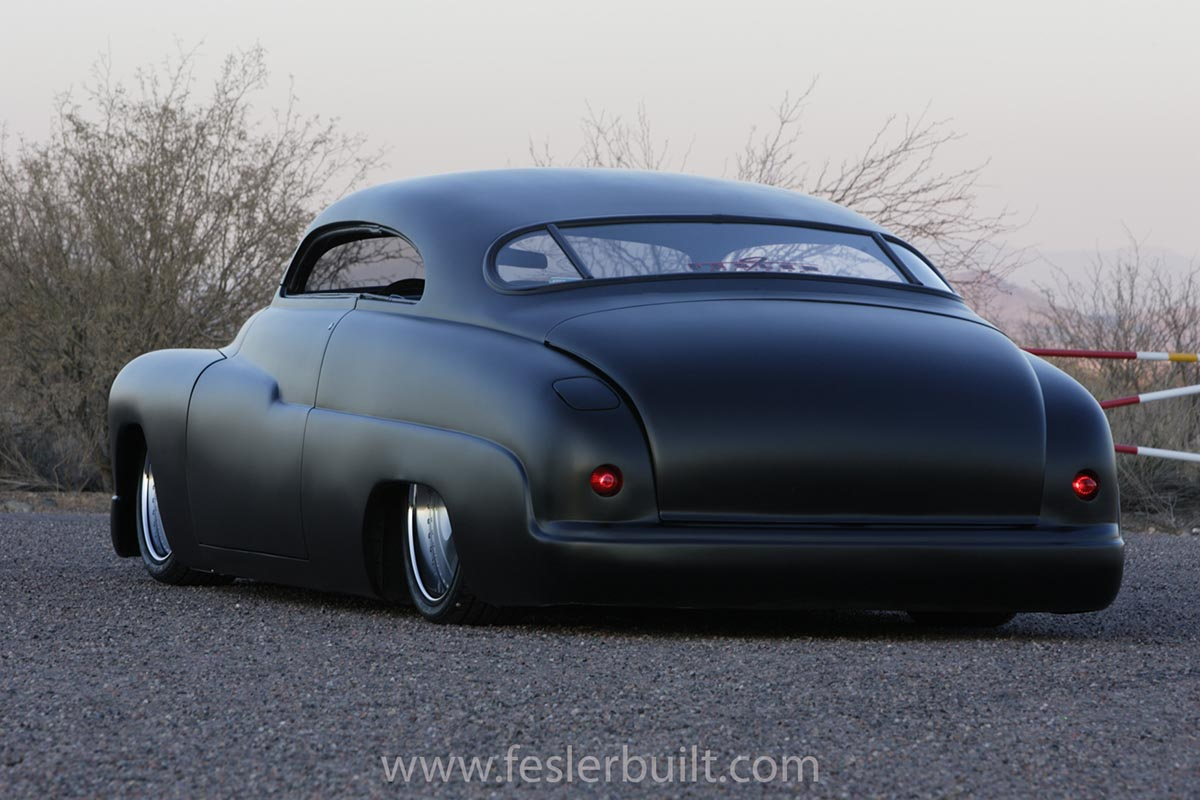 this sinister 1949 mercury quotlead sledquot is the dream car of